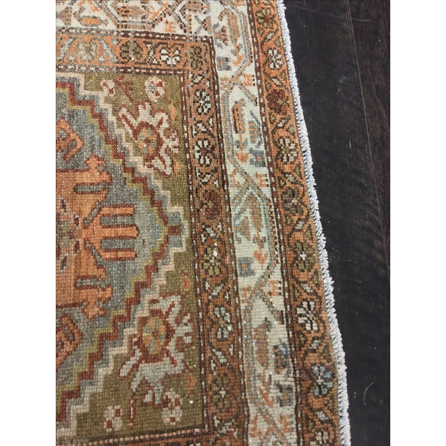 Antique Persian Malayer Runner - 2′10″ × 19′ - Image 9 of 11