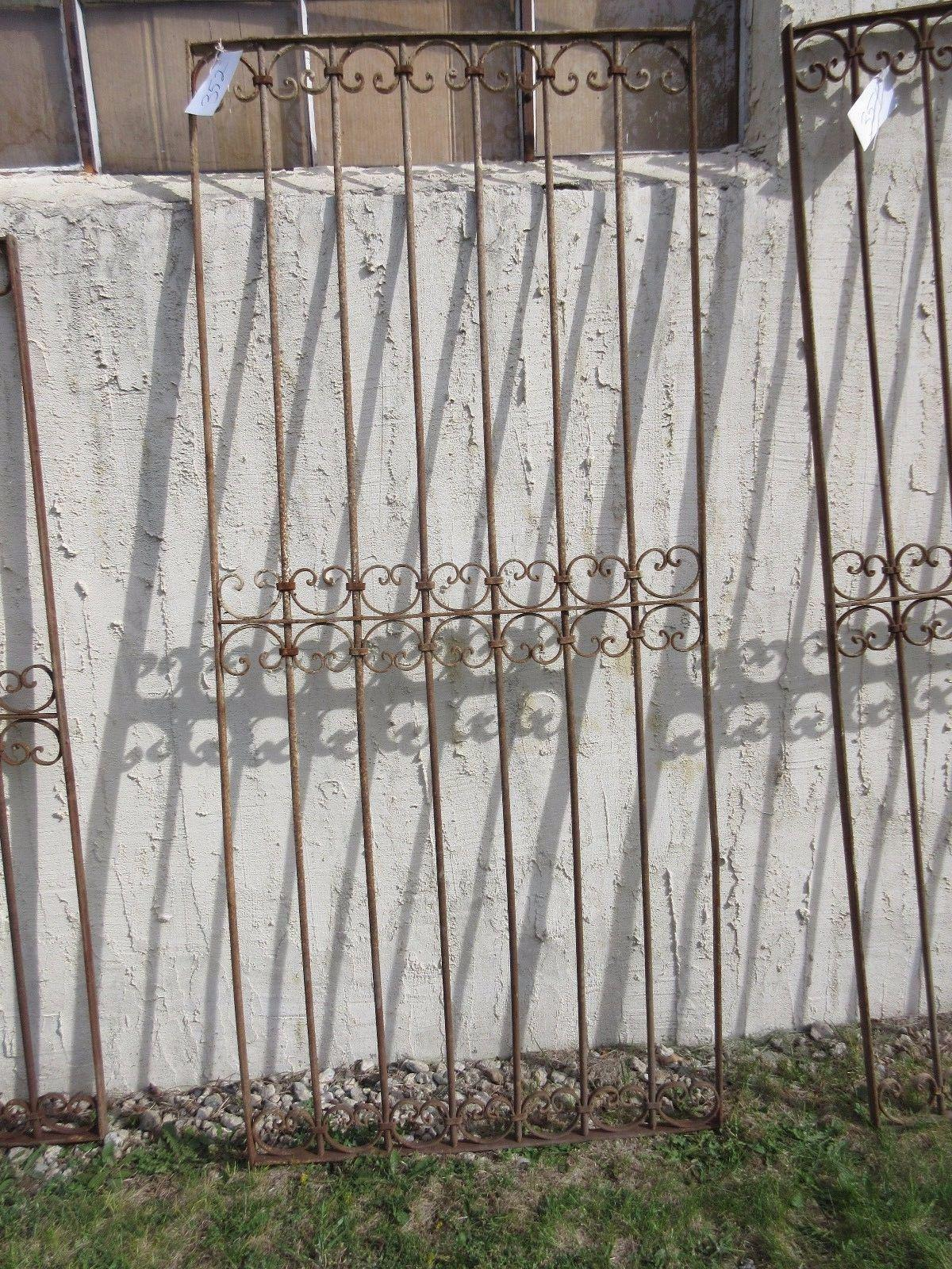 Antique Victorian Iron Gate Or Garden Fence For Sale In Philadelphia    Image 6 Of 7