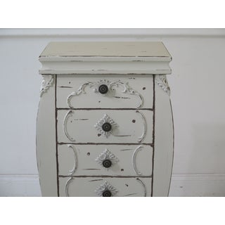 French Style Paint Decorated Lingerie Chest Preview