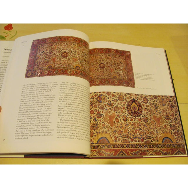 """Paper """"Flowers Underfoot: Indian Carpets of the Mughal Era"""" Book by Daniel Walker For Sale - Image 7 of 9"""