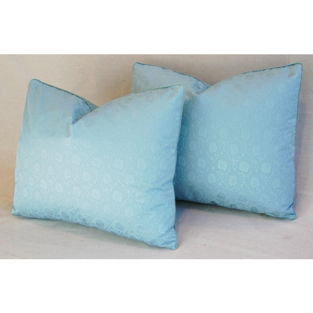 Powder Blue French Lelievre of Paris Pillows - a Pair - Image 10 of 11