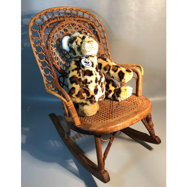 ITEM DESCRIPTION: A cutie patootie Victorian rocker for your child, teddy bear or doll. The workmanship is superb and we...