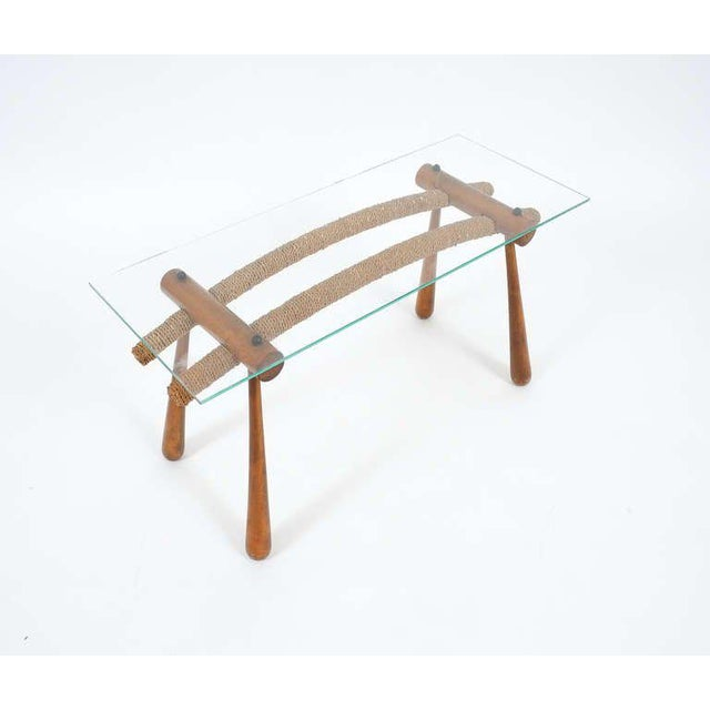 Brown Iconic Modernist Coffee or Side Table by Max Kment, 1955 For Sale - Image 8 of 10