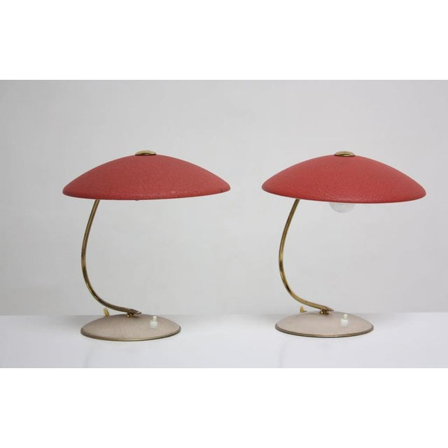 Mid-Century Dutch Table Lamps - Image 5 of 11