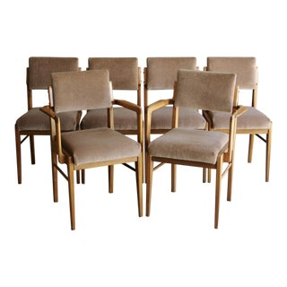 Teak Danish Modern Dining Chairs - Set of 6