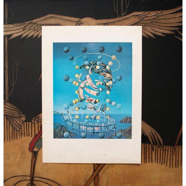 "Mediterranean 1957 Salvador Dalí ""Assumpta Corpuscularia Lapislazulin"" Vintage Lithograph Print For Sale - Image 3 of 9"