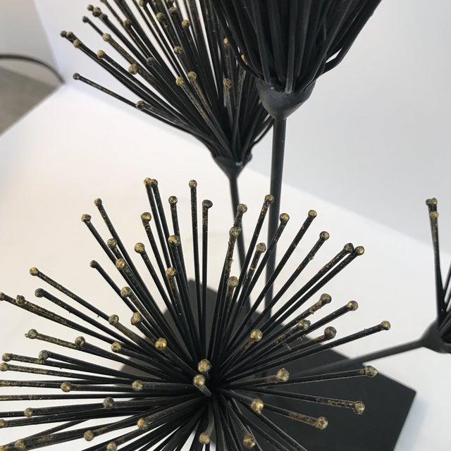 Metal Floral Sculpture - Image 5 of 6