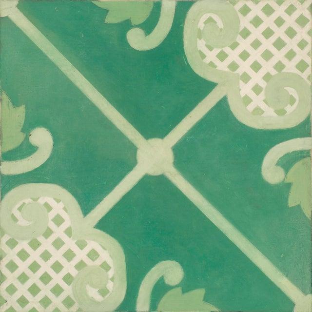 Celerie Kemble Folly Hardwood Tile - Sample Tile For Sale