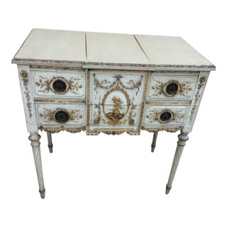 18th Century Italian Vanity Dressing Table For Sale