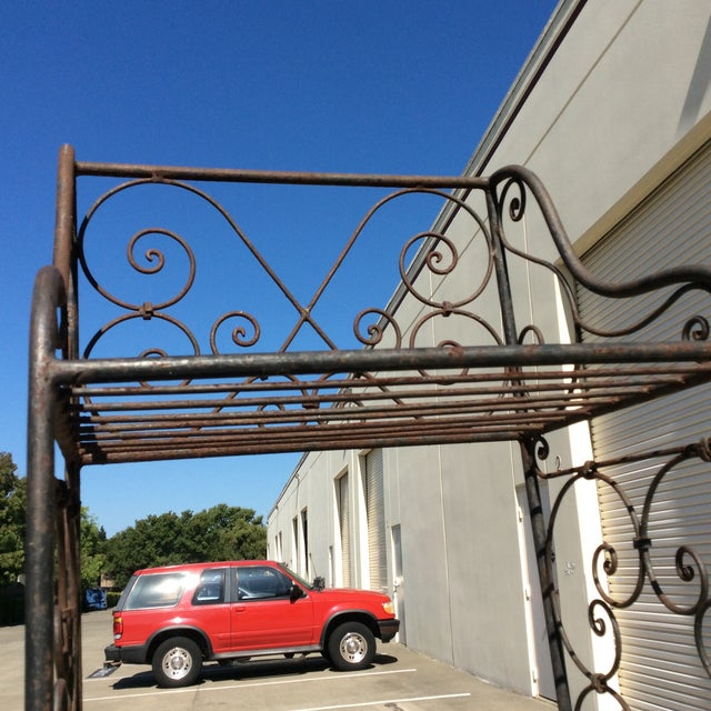 Scrolling Iron Etagere For Sale In San Antonio - Image 6 of 11