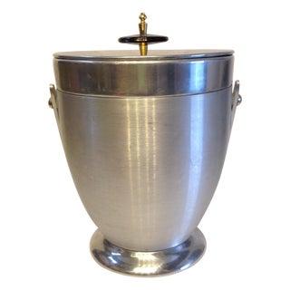 Mid Century Chrome Ice Bucket