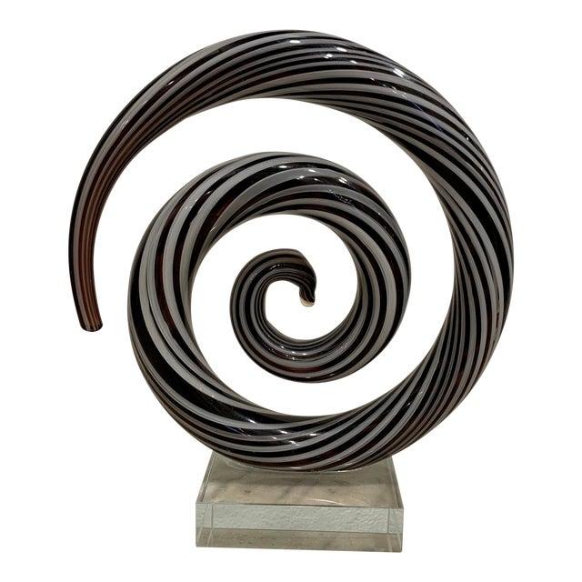 Venetian Murano Glass Sculpture For Sale