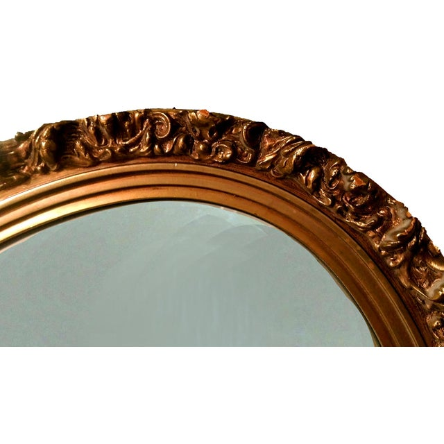 1920s Gilded Garland Mirror - Image 5 of 7