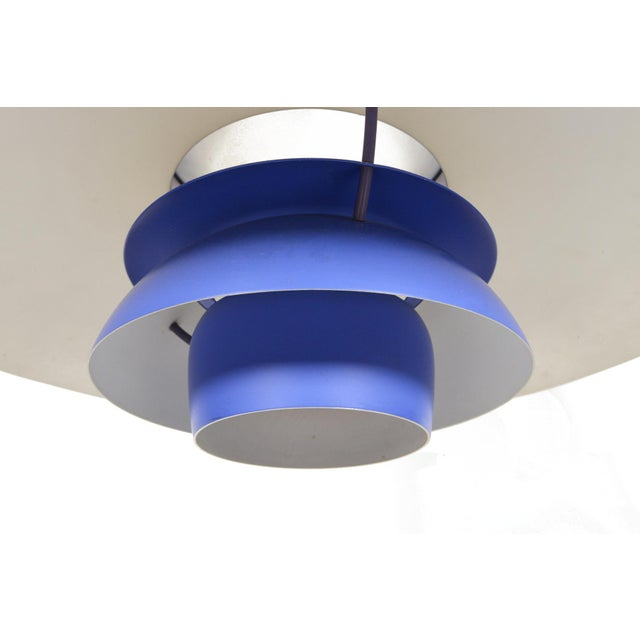 Mid-Century Modern Ph5 Pendant by Poul Henningsen For Sale - Image 3 of 5