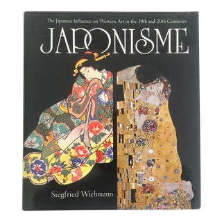 """"""" Japonsime Japanese Influence on Western Art """" Rare Vintage 1985 Large Collector's Art Book For Sale"""