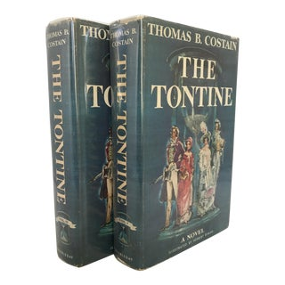 """The Tontine"" 1955 First Edition Book Set For Sale"