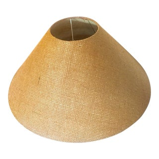 Tan Textured Boho Lamp Shade