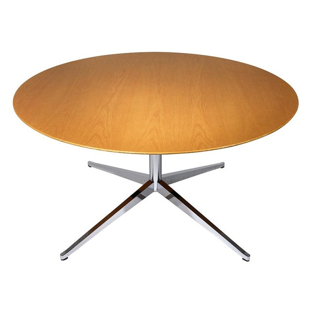 Mid-Century Modern-style Dining Table by Florence Knoll International - Image 4 of 8