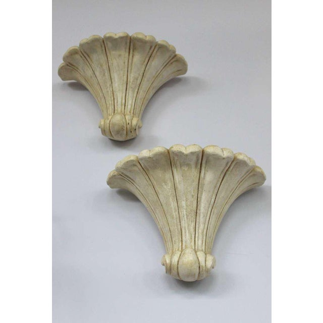 Pair of Deco Style Plaster Scones - Image 9 of 11
