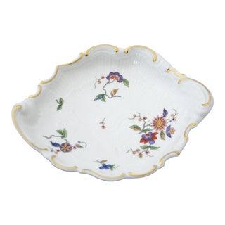 Richard Ginori Oriente Italian Porcelain Shell Shaped Bon Bon Bowl For Sale