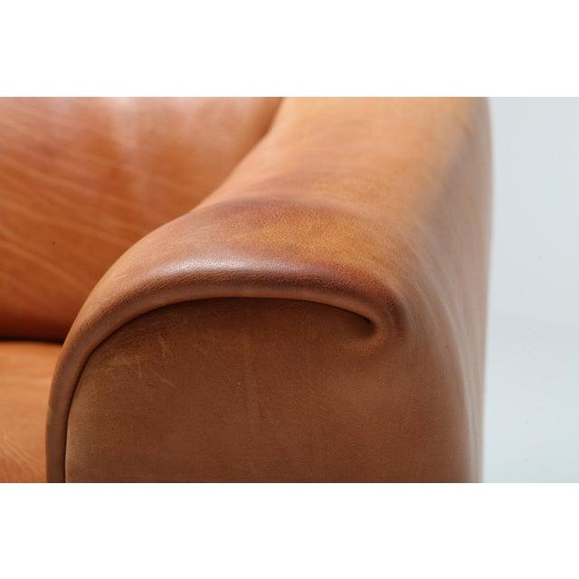 De Sede Ds 47 Cognac Leather Sofa For Sale - Image 10 of 12