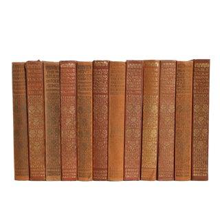 "Vintage ""Mini"" Peach Classics Book Set, S/12 For Sale"