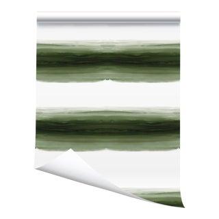 Victoria Larson Wave Grasscloth Wallpaper Roll - River - 34×180ʺ For Sale