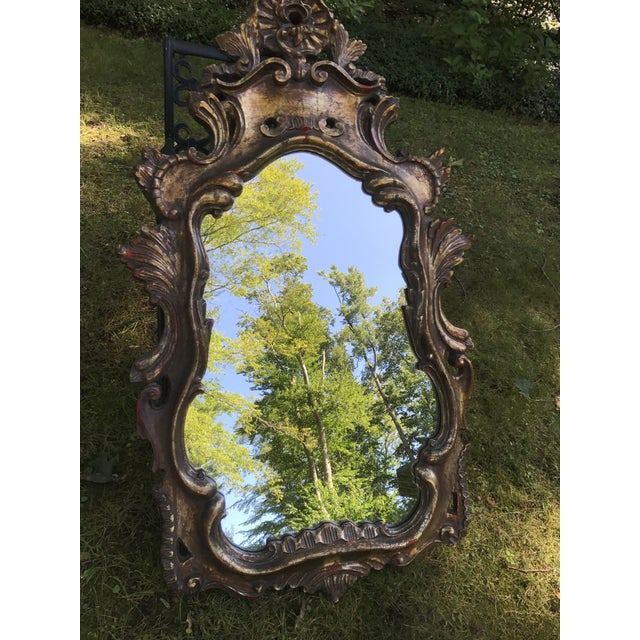 Vintage French Rococo Style Mirror - Image 3 of 10