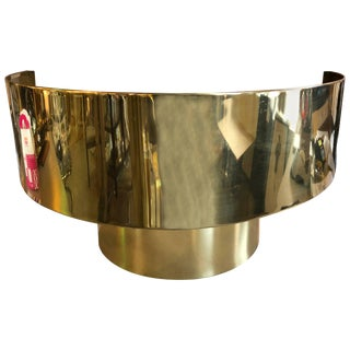 1980s Vintage Curtis Jere Two-Tiered Sconce For Sale
