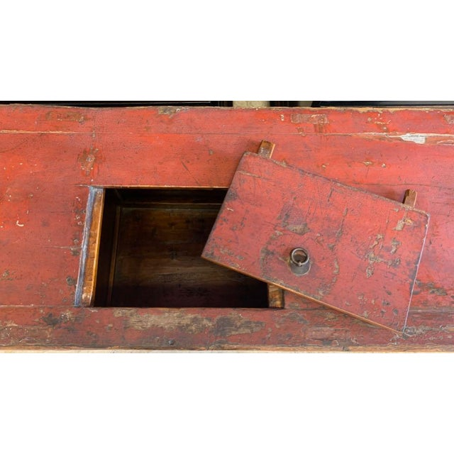 Traditional 20th Century Tibetan Dowry Chest For Sale - Image 3 of 10