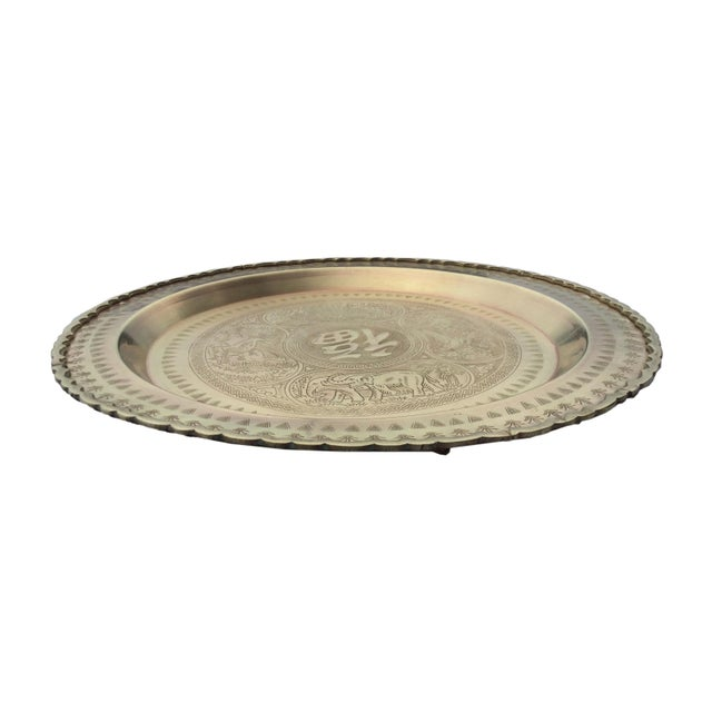 This Vintage Brass Tray is perfect for wall decor or even on a table top for display. Would look stunning in a cluster of...