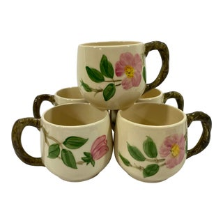 Vintage Franciscan Tea Cups, Set of 5 For Sale