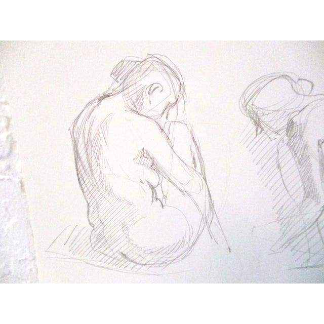Figurative Original Figurative Artist Sketches - A Pair For Sale - Image 3 of 7