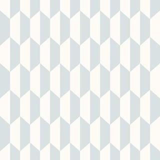 Cole & Son Petite Tile Wallpaper Roll - Powder Blue For Sale