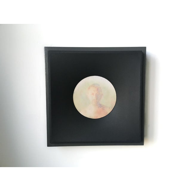 "Topher Gent ""Untitled Self Portrait"" Contemporary Painting Photo Transfer C. 2019 For Sale In Providence - Image 6 of 7"