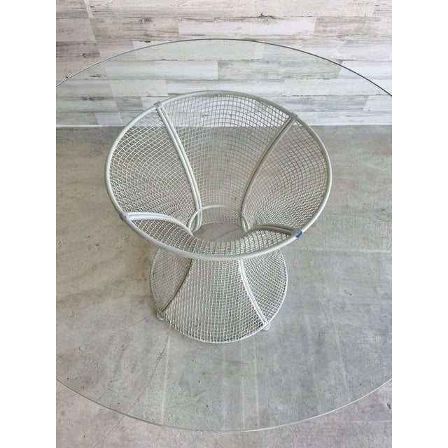 Mid 20th Century Mid Century Wire Formed Patio Set For Sale - Image 5 of 13