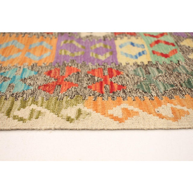 "Textile Turkish Kilim Rug-8'6"" X 11'0"" For Sale - Image 7 of 9"