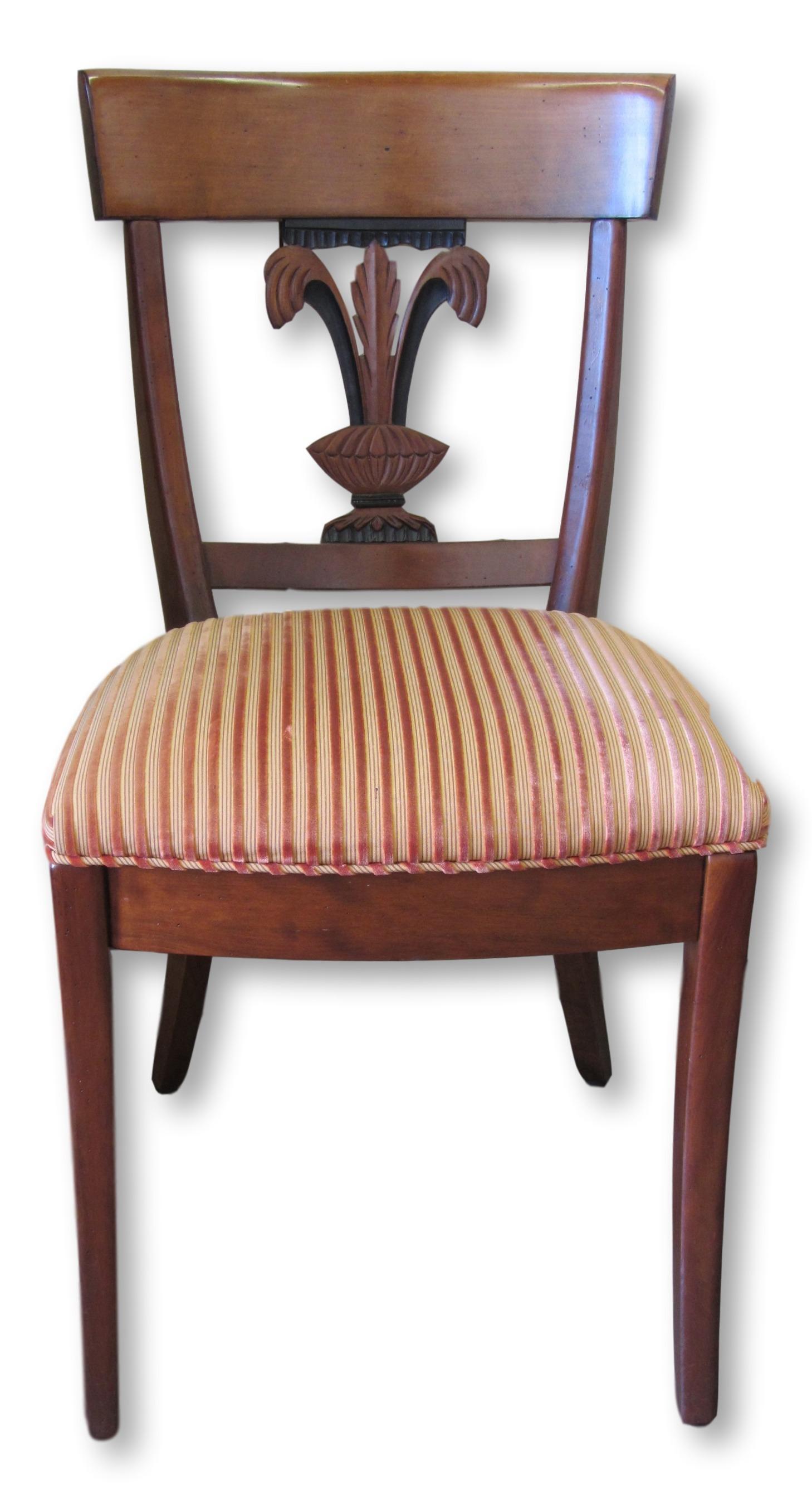 Roche Bobois Fleur De Lis Dining Chairs   Set Of 8   Image 3 Of 10