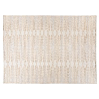 Stark Studio Rugs Contemporary Flatweave 40% Cotton/35% Wool/25% Bamboo Silk Rug - 8′ × 10′ For Sale
