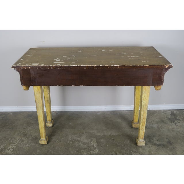 Painted Italian Console W/ Tassels For Sale - Image 9 of 11