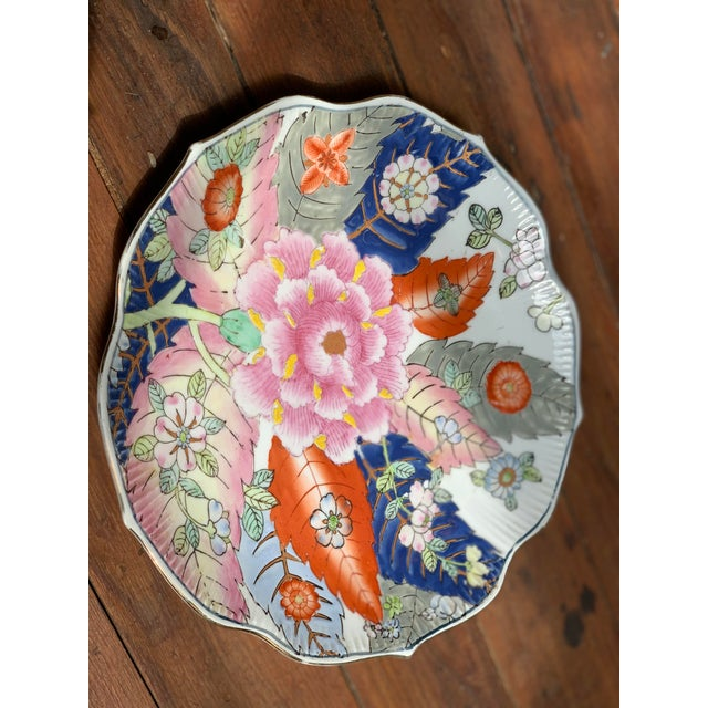Paint Tobacco Leaf Decorative Plate For Sale - Image 7 of 13