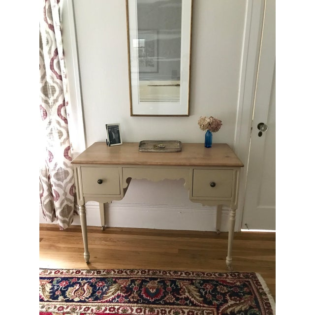 Vintage 3-Drawer Desk - Image 10 of 10