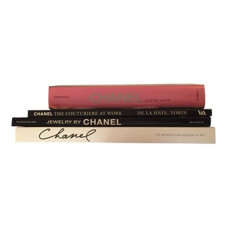 Chanel Fashion Books - Set of 4 For Sale