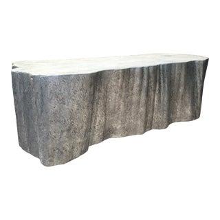 Organic Modern Silverleaf Coffee Table For Sale
