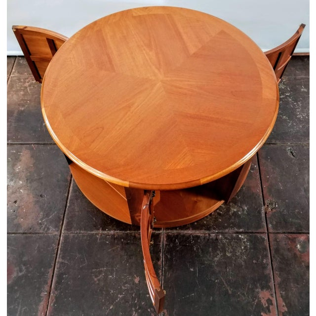 Mid Century Modern Man Cave /Bookcase/Bar / Storage Coffee Table By: Nathan For Sale In San Diego - Image 6 of 13
