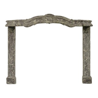 "Extremely Rare Dutch ""Smuiger"" Fireplace Mantel"