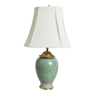 CELADON LAMP For Sale