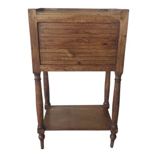 20th Century Primitive Side Table For Sale