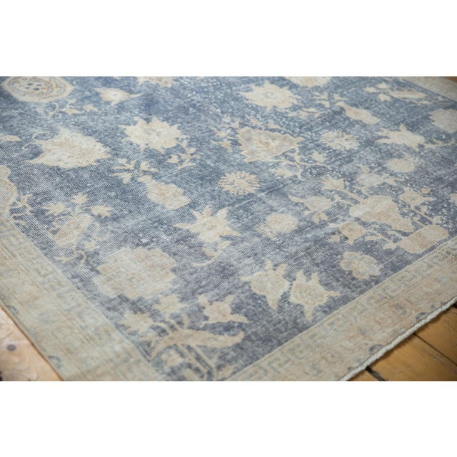"""Vintage Distressed Fragment Sparta Carpet - 5'7"""" X 9'1"""" For Sale In New York - Image 6 of 11"""