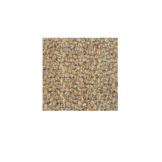 Herringbone 2 Tone Natural Jute Rug - 5' X 8' Preview